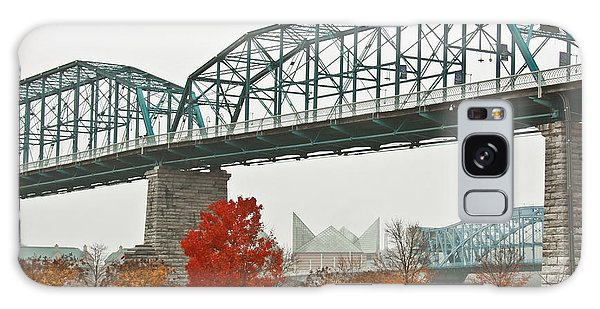 Walnut Street Bridge Galaxy Case