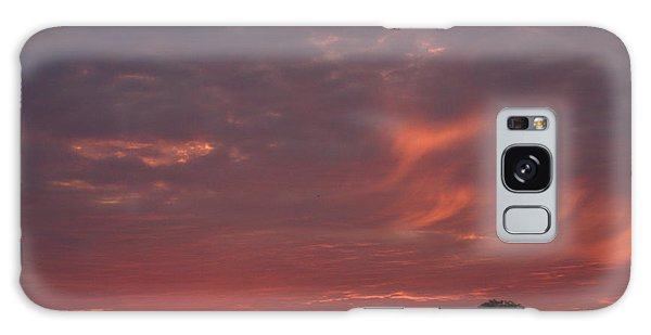 Warwickshire Sunset Galaxy Case by Linsey Williams