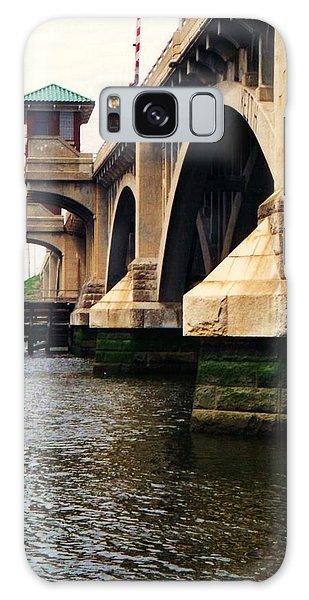 Washington Bridge Galaxy Case by John Scates