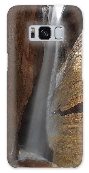 Water Canyon Galaxy Case by Susan Rovira
