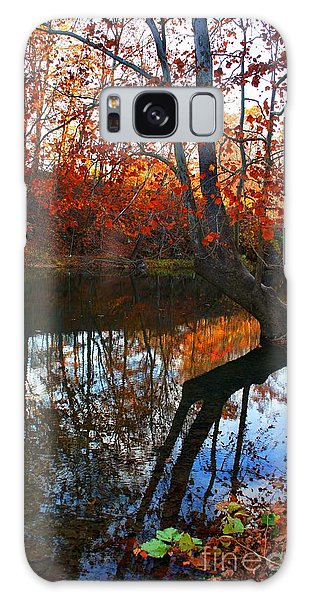 Water In Fall Galaxy Case
