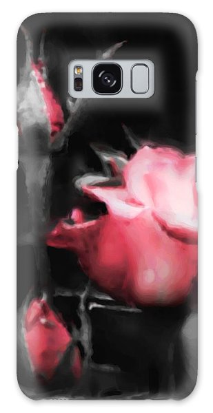 Watercolor Rose Galaxy Case by Michelle Joseph-Long