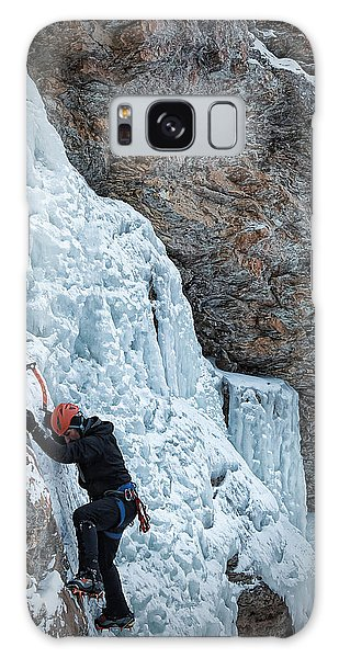 Waterfall Climbing Galaxy Case