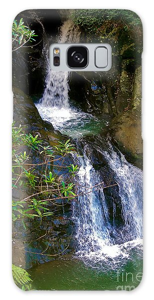 Waterfall In The Currumbin Valley Galaxy Case