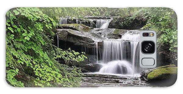 Waterfall Near Mabbitt Spring Galaxy Case