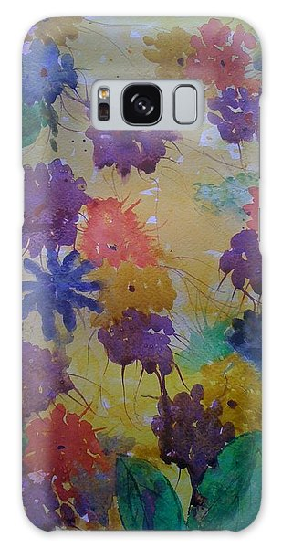 Waterflowers Galaxy Case by Judi Goodwin