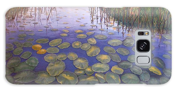 Waterlillies South Africa Galaxy Case