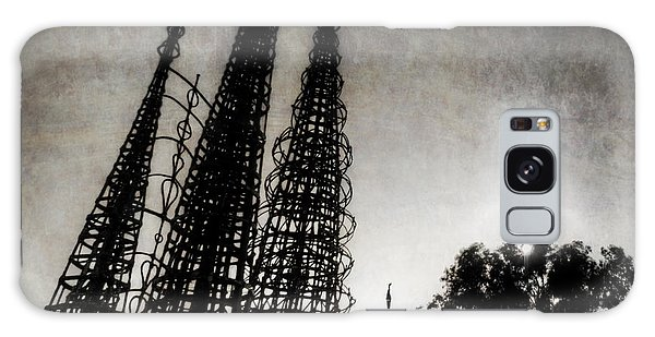 Watts Towers Galaxy Case