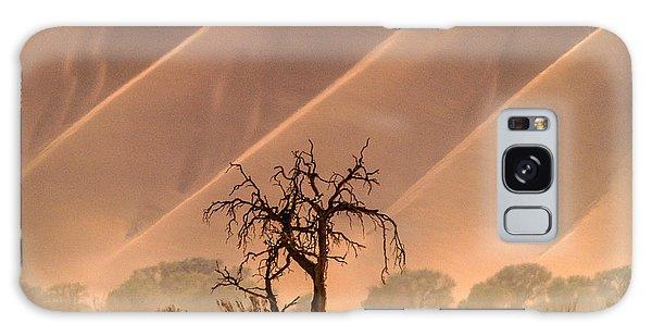 Wave Tree Galaxy Case