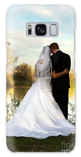 Wedding Couple Galaxy Case
