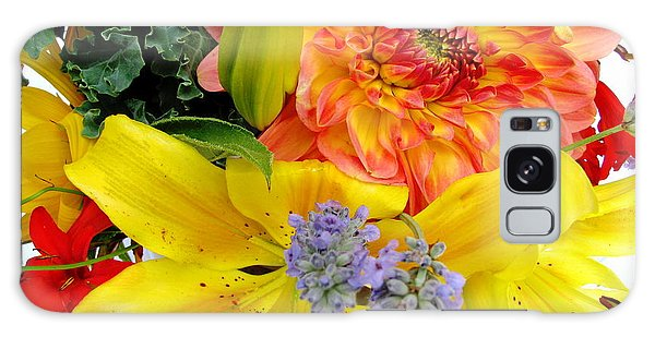 Wedding Flowers Galaxy Case by Rory Sagner
