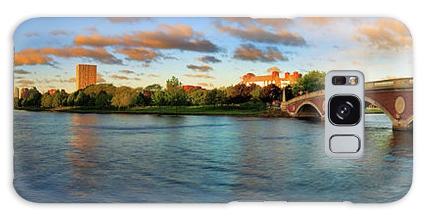 Weeks' Bridge Panorama Galaxy Case by Rick Berk