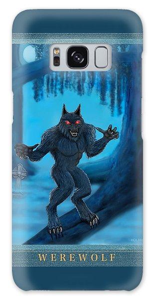 Werewolf Galaxy Case by Glenn Holbrook