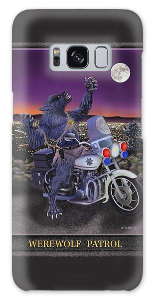 Werewolf Patrol Galaxy Case by Glenn Holbrook
