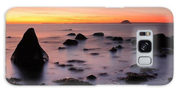West Coast Sunset Galaxy Case