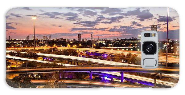 West Houston Around Dowtown Galaxy Case