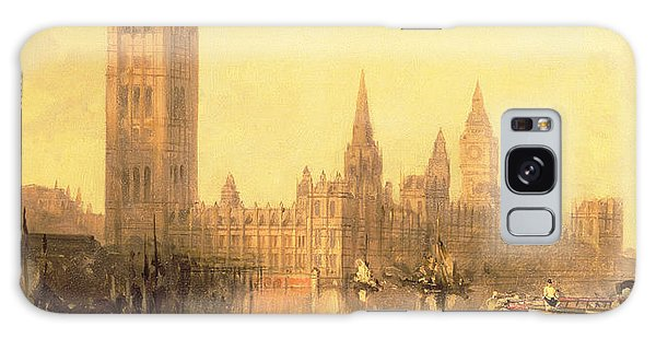 Houses Of Parliament Galaxy Case - Westminster Houses Of Parliament by David Roberts