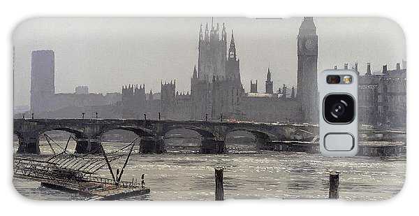 Houses Of Parliament Galaxy Case - Westminster by Tom Young