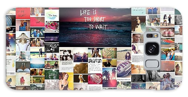 What Is Life To You Galaxy Case by Holley Jacobs