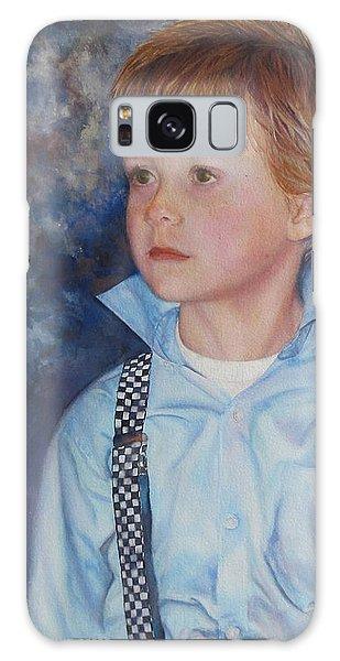 Blue Boy Galaxy Case