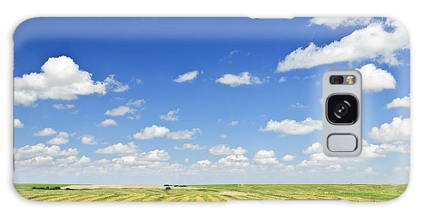 Cloud Galaxy Case - Wheat Farm Field At Harvest by Elena Elisseeva