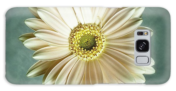 White Daisy Galaxy Case by Tamyra Ayles