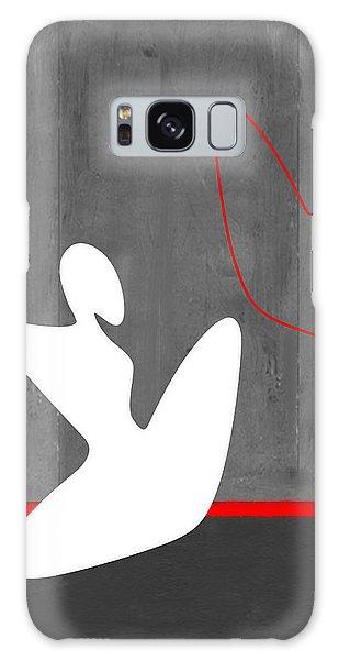 Figurative Galaxy Case - White Girl by Naxart Studio