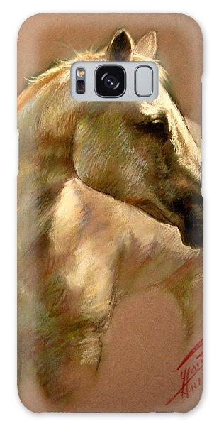 White Horse Galaxy S8 Case - White Horse by Ylli Haruni