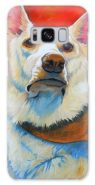 White Shepherd Galaxy Case