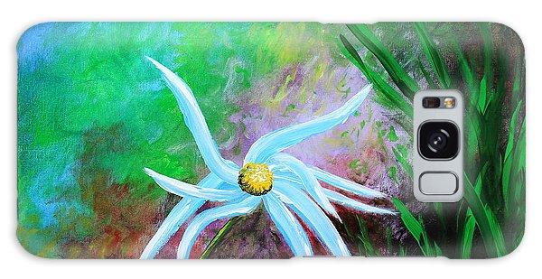 Wild Daisy 2 Galaxy Case by Kume Bryant
