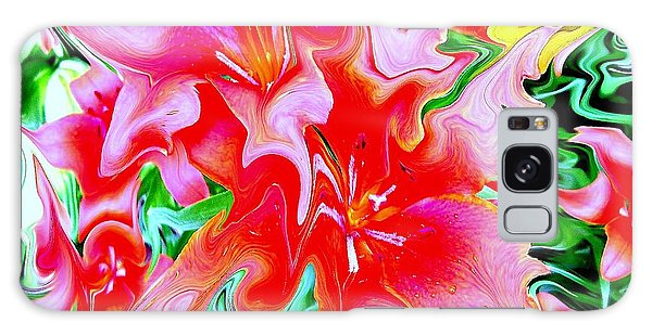Wild Flowers Galaxy Case by Greg Moores