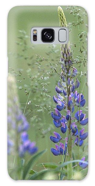 Wild Lupine Flower Galaxy Case
