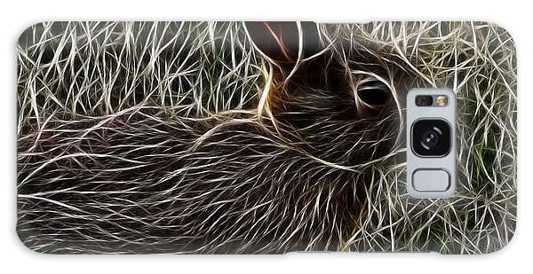 Wild Rabbit Galaxy Case by Maciek Froncisz