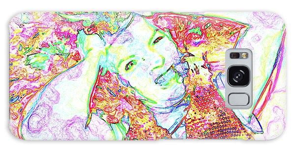Galaxy Case - Wild Thoughts by Karen Elzinga