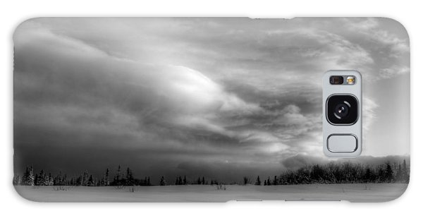 Windblown Cloud Galaxy Case by Michele Cornelius