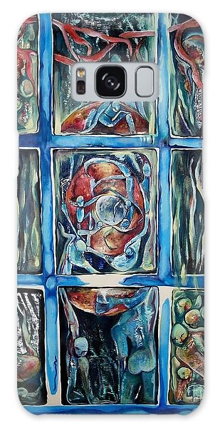 Window Of Opportunity Galaxy Case by Carol Rashawnna Williams