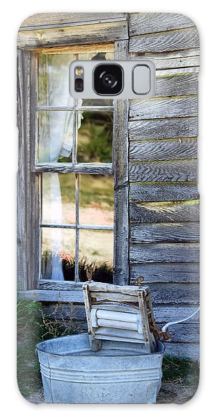 Window On Prairie Life Galaxy Case