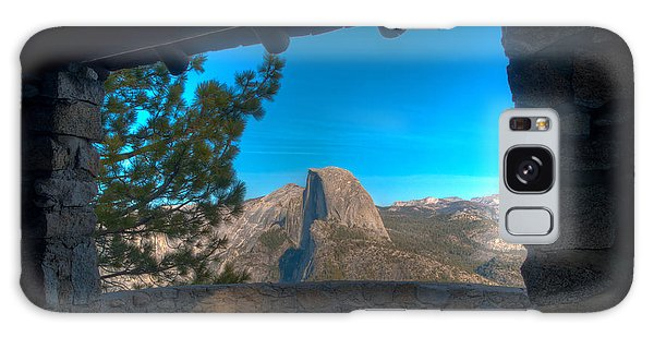 Window View Half Dome Galaxy Case