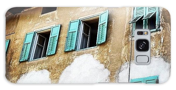 House Galaxy Case - Windows by Luisa Azzolini