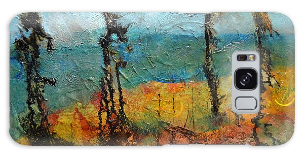 Windswept Pines Galaxy Case