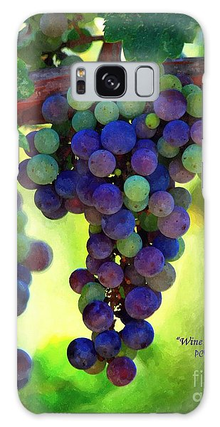Wine To Be - Art Galaxy Case