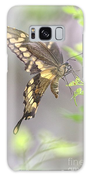 Winged Ballet Galaxy Case by Anne Rodkin
