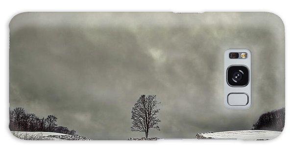 Countryside Galaxy Case - Winter Blues by Evelina Kremsdorf
