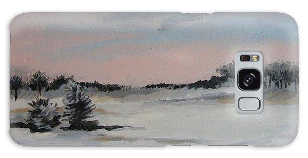 Winter Landscape Galaxy Case