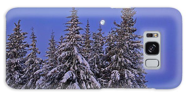 Winter Night Galaxy Case by Michele Cornelius