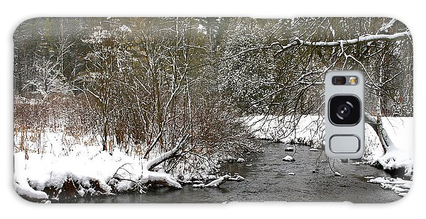 Winter On Bear Creek Galaxy Case