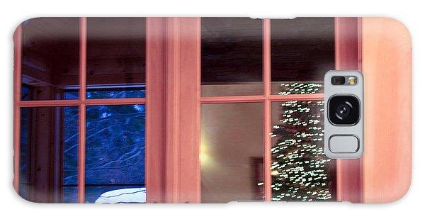 Winter Reflections  Galaxy Case by Ann Murphy