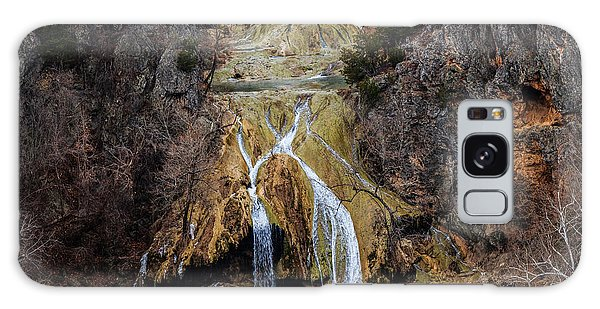 Winter Time At The Falls Galaxy Case by Doug Long