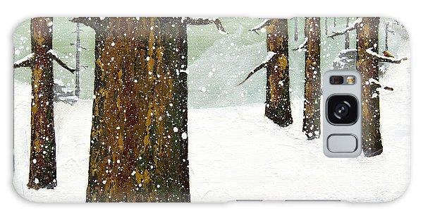 Wintering Pines Galaxy Case