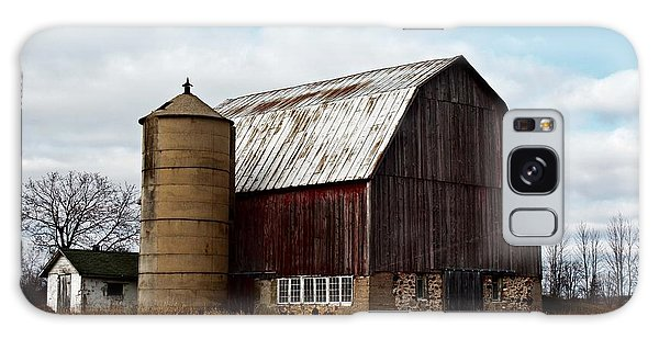 Wisconsin Dairy Barn Galaxy Case